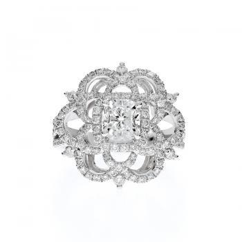 芙蘿拉之神 鑽石戒指  / Flora chanson