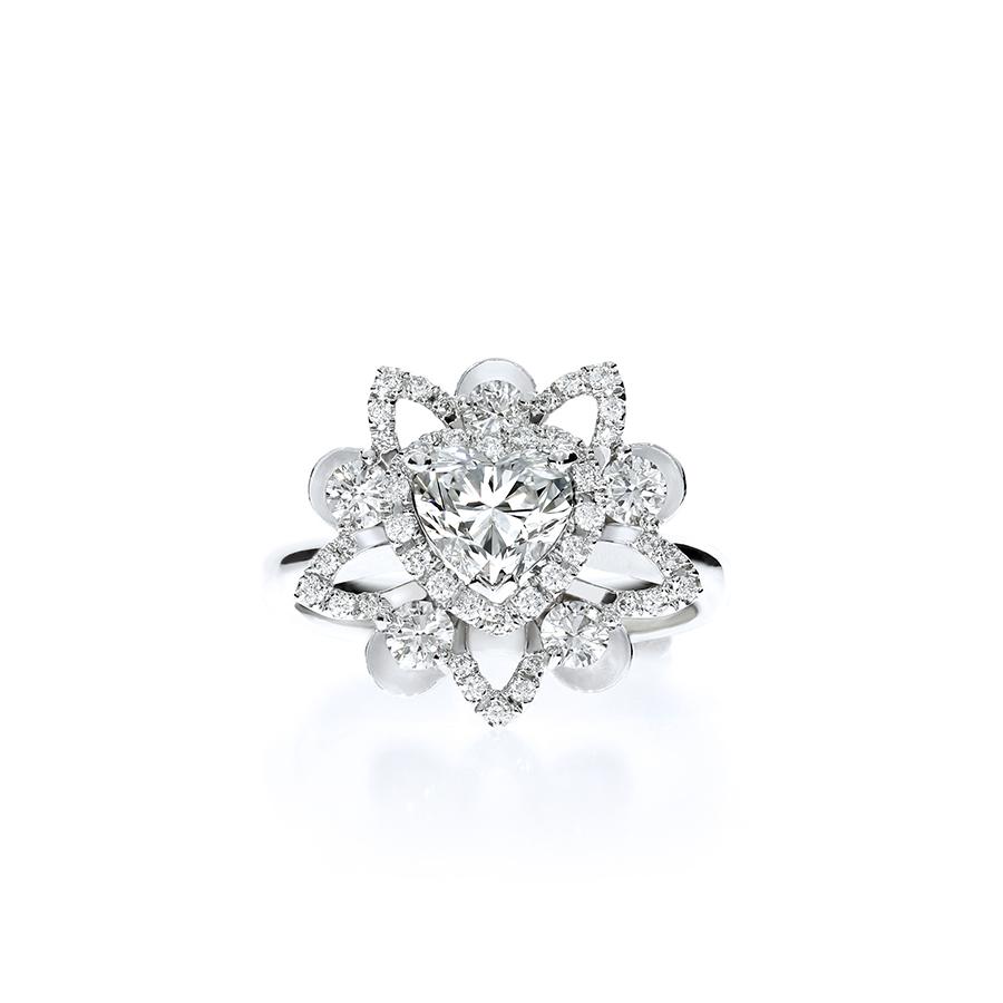 璀璨蓮華 鑽石戒指  / Lotus