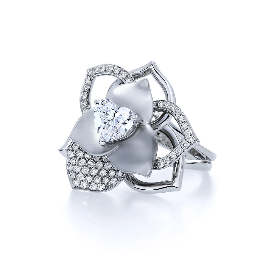 薔薇華爾滋 鑽石戒指 /  Rose Walzer