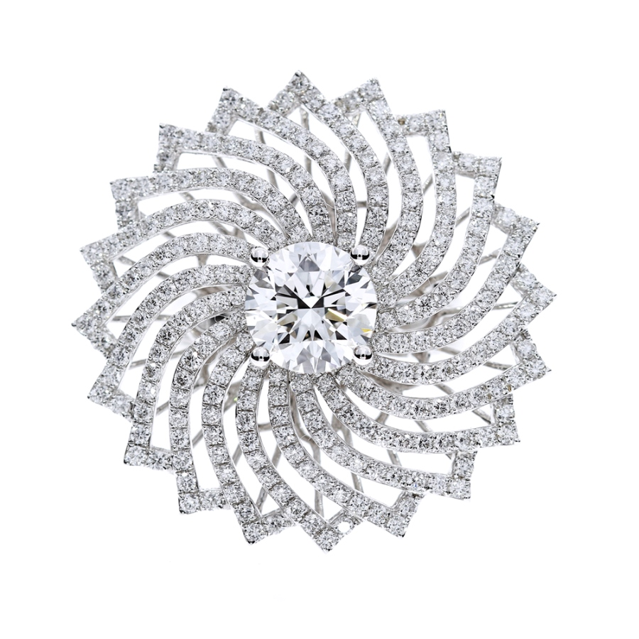 萬花筒 鑽石戒指 /  Kaleidoscope