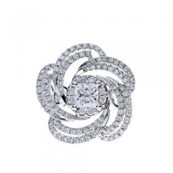 玫瑰夫人 鑽石戒指 /  Rose Lady