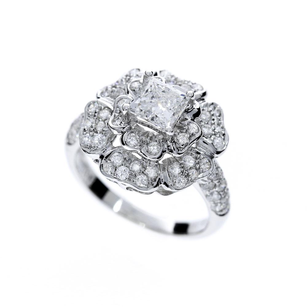 牡丹 鑽石戒指 /  Peony