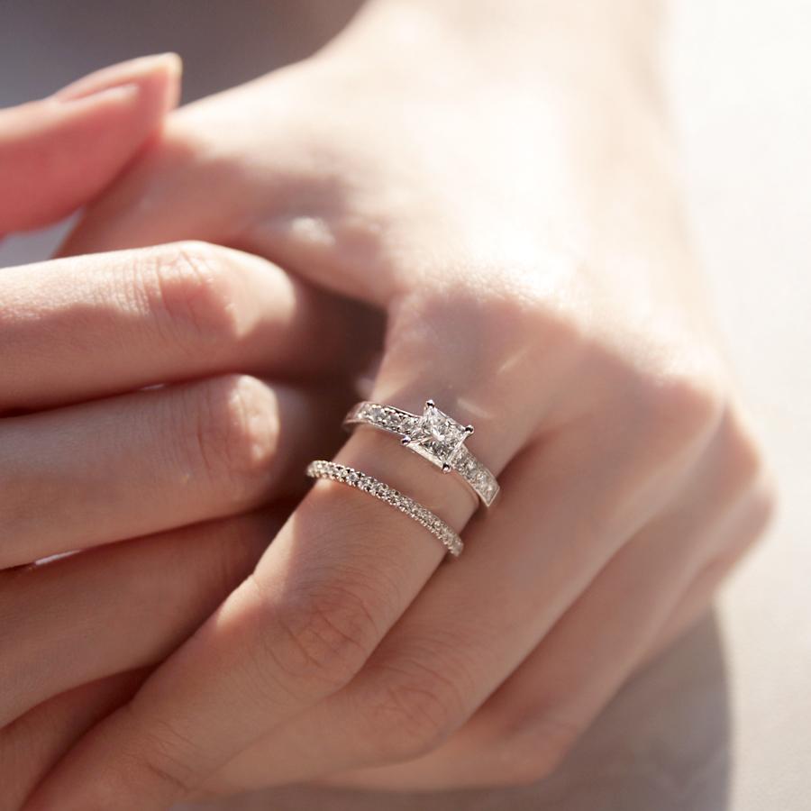 愛如磐石 鑽石戒指 / Royalty