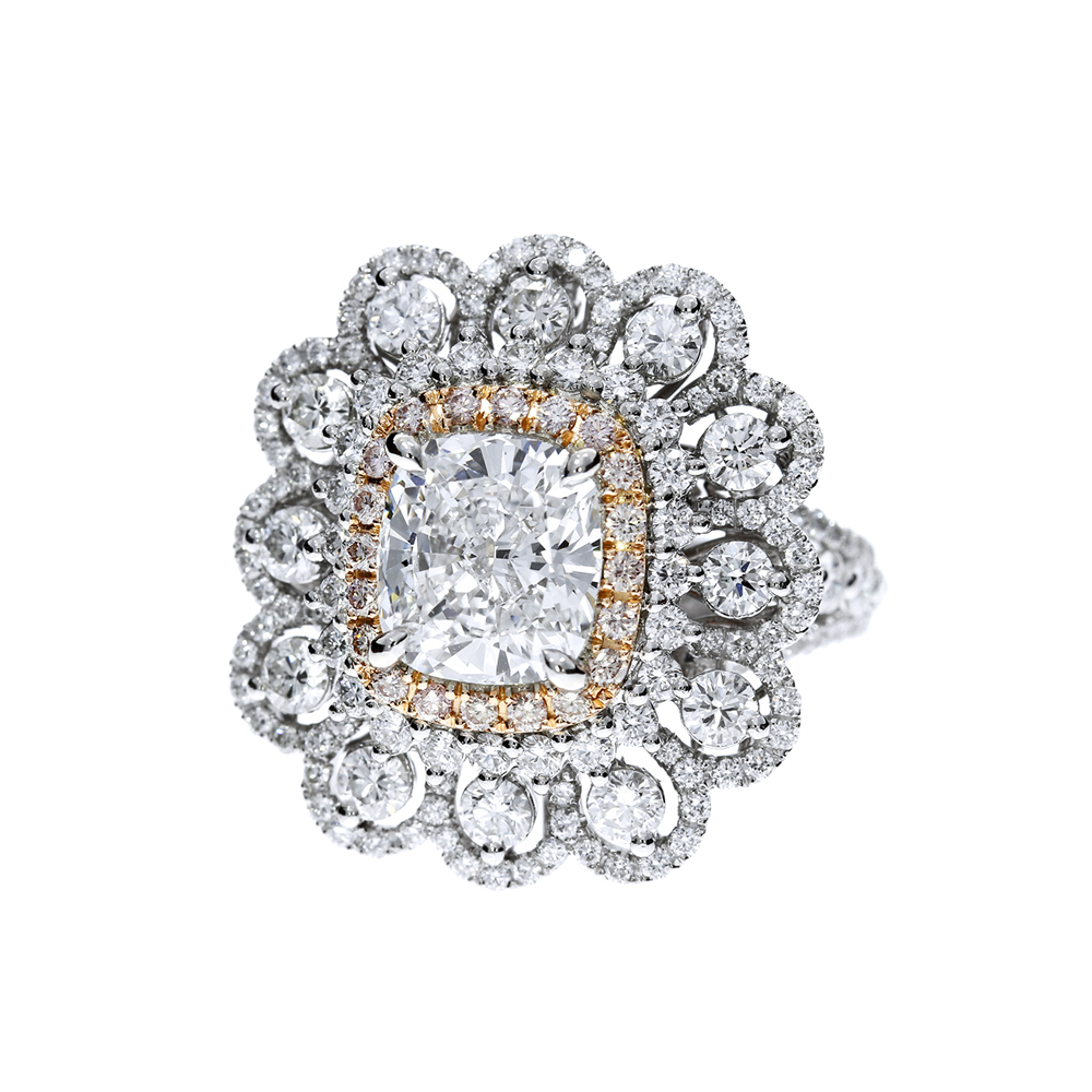 花綻頌陽 鑽石戒指 /  Bloom