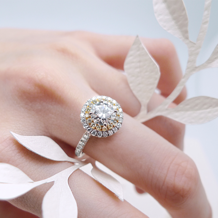 凝望 鑽石戒指 / Gaze