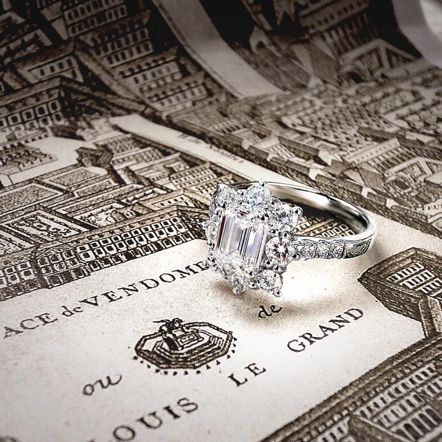 芳登廣場 鑽石戒指 / Place Vendome