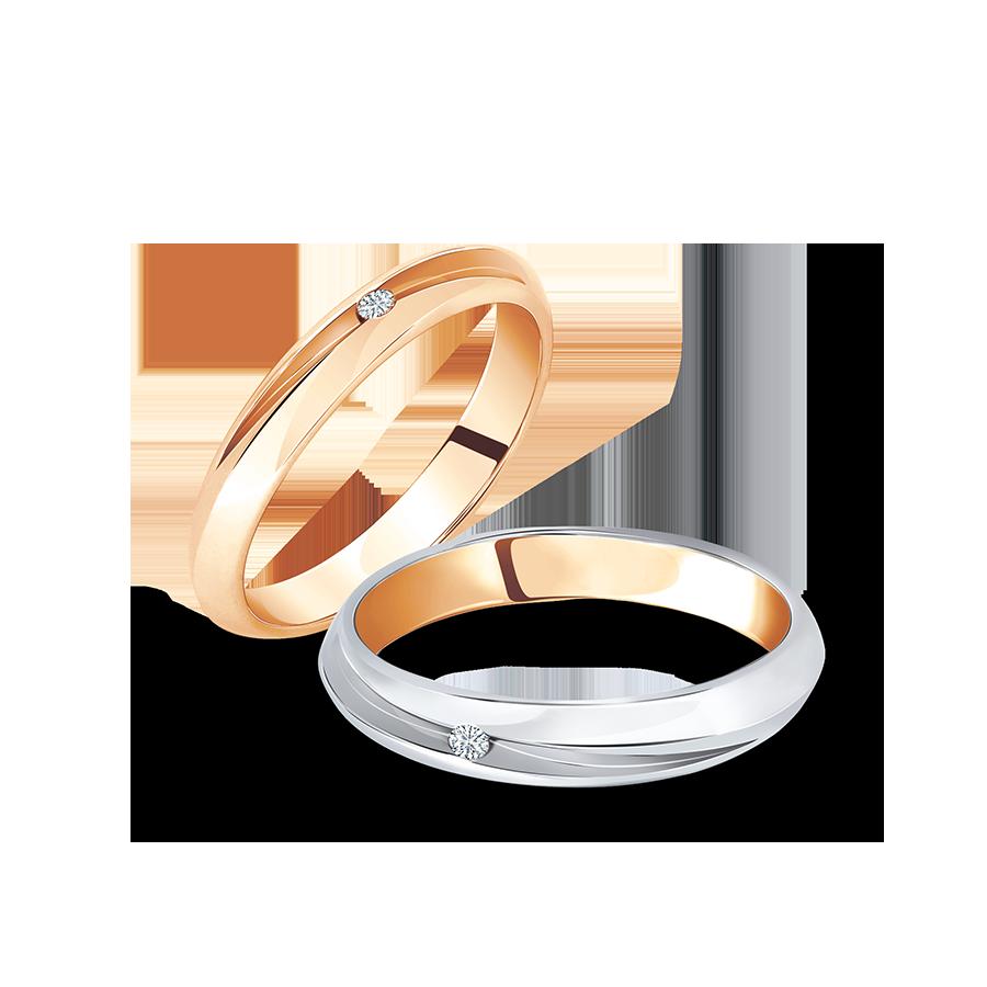日輪 鑽石對戒 / Sun ring