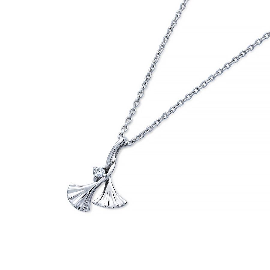 纏杏 鑽石項鍊
