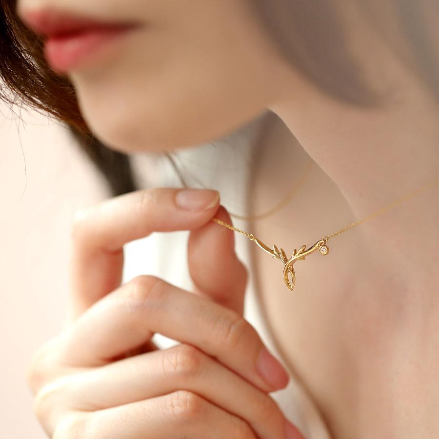 心鹿歷程 - 3分鑽石項鍊