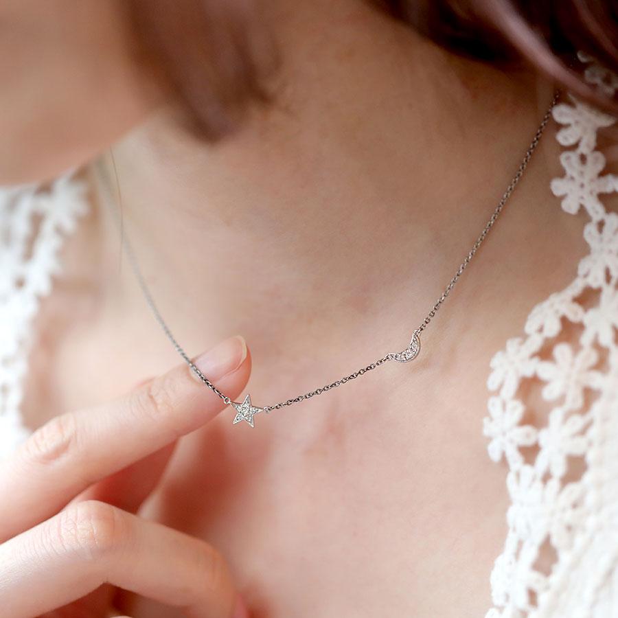 披星戴月 - 9分鑽石項鍊