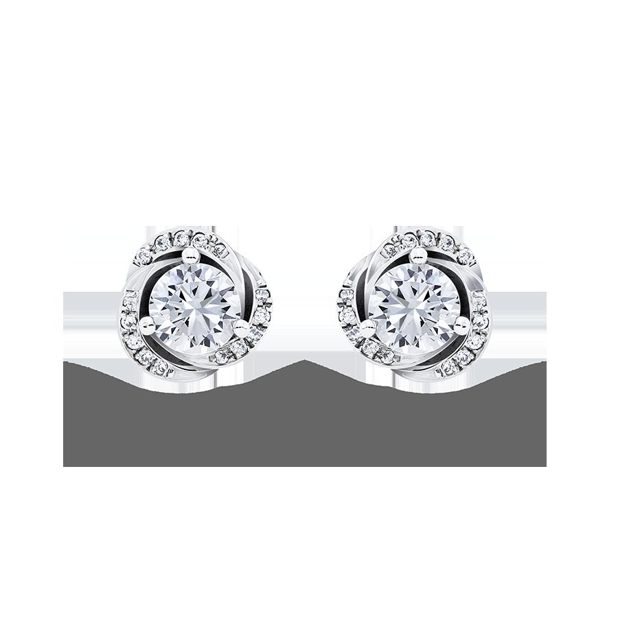 旅程 鑽石耳環 / Journey