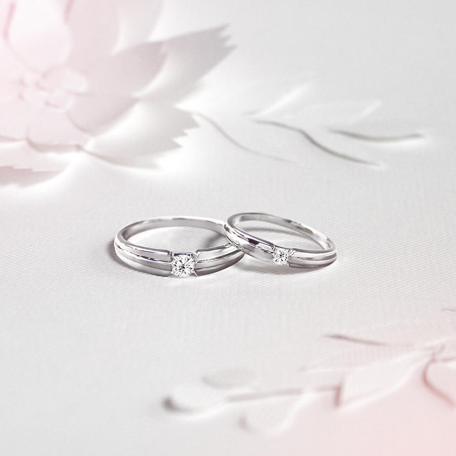 永恆之戀 - 鑽石對戒 /   Forever Romance