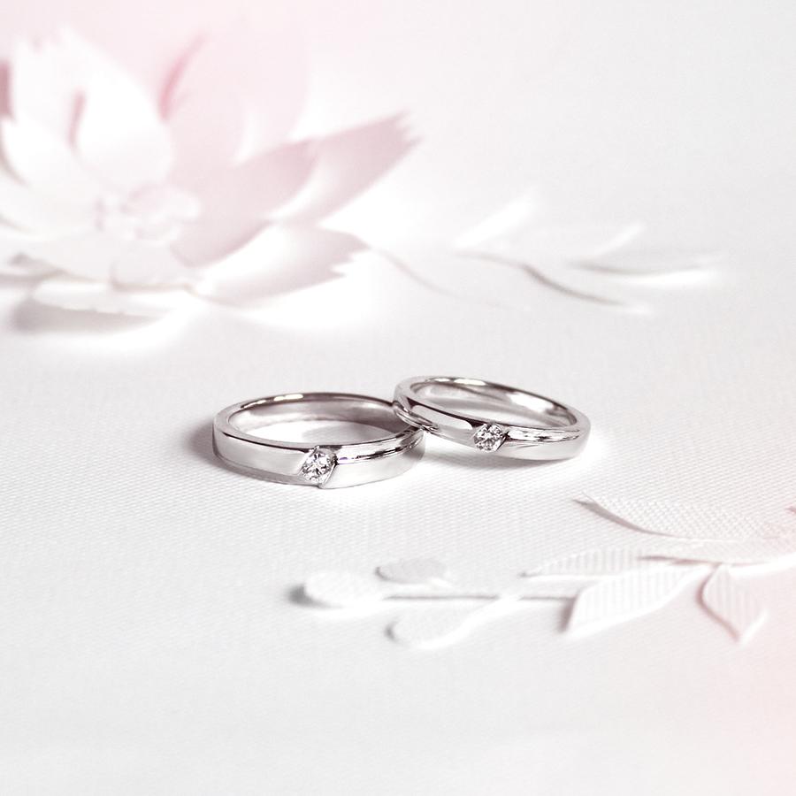 永恆愛情 - 鑽石對戒 /   Forever Love